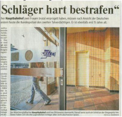 Rheinische Post verstößt gegen Pressekodex! (3/6)