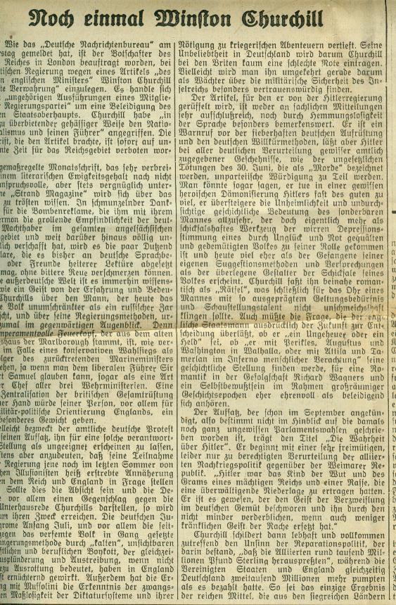 National-Zeitung Basel 3.11.1935