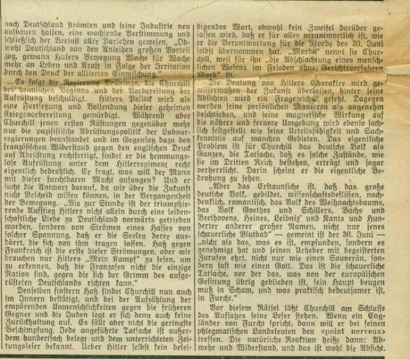 National-Zeitung Basel 3.11.1935 Fortsetzung