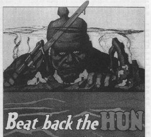 Deutsche als Hunnen: Allierte Kriegspropaganda WW I
