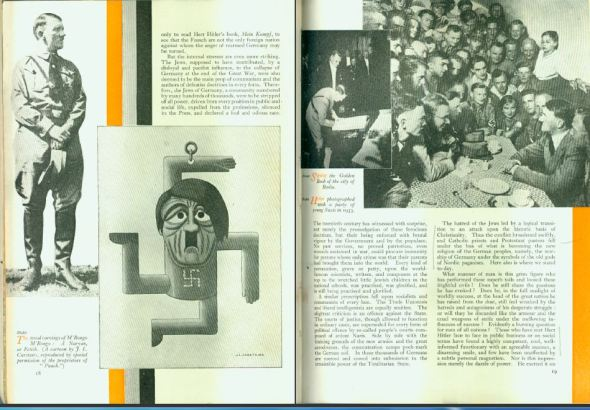 Strand Magazine Nov 1935, CHurchill: The truth about Hitler, pages 18-19