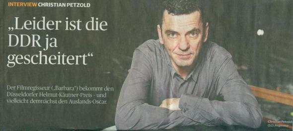 Christian Petzold am 26.11.2012 in der RP