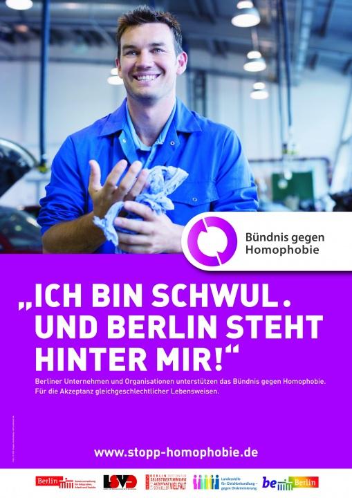 Ich bin schwul und Berlin steht hinter mir