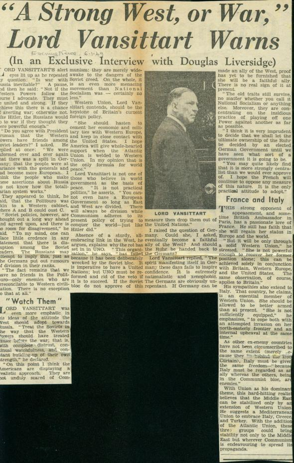 Evening News January 6, 1940 (Click on it to enlarge)