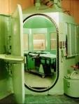 Die Gaskammer des Staates Kalifornien im San Quentin State Prison,