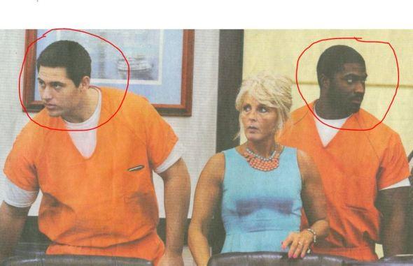 Vergewaltiger vor einem US-Gericht