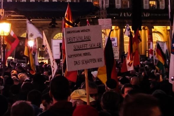 Pegida 19.10.2015 Dresden