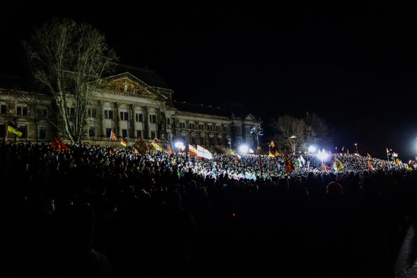 21.12.2015 Pegida in Dresden (Foto: privat)