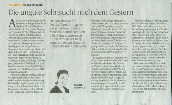Rheinische Post vom 4. Mai 2016